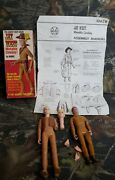 Vtg Johnny West Series Jay West Movable Cowboy By Marx Lot Parts Ca