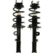 Shock Absorber And Strut Assemblies Set Of 2 Front Left-and-right Lh And Rh Pair