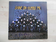 Humble Pie Steve Marriott And Peter Frampton Signed Lp-cover Rock On Vinyl