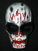 Paintball Airsoft Mask Bb Gun Army Of Two Helmet Costume Cosplay Joker Ma163