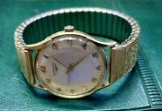 1959 14k. Gold Longines Cal 280 Watch Runs Keep Right Time. Good Condition