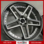 22x10.5 Giovanna Wheel And Tire Package Silver Machined Chrome Lip