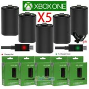 Lot5 For Xbox One Play And Charge Kit Rechargeable Battery Pack And Charging Cable