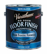 Varathane 230131 Crystal Clear Water-based Floor Finish 1 Gal. Pack Of 2