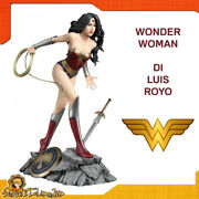 Statue Figurine Action Figure Of Wonder Woman Luis Royo For Dc Comics Collection
