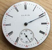 Elgin Natl Pocket Watch Hand Manual 1 11/16in Doesnand039t Works For Parts Pocket