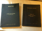Rootes Workshop Manual, All Models W 1725cc Engine And Model 35 Auto Transmission