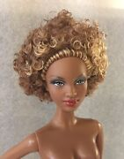 Barbie Basics Model No 08 Collection Red Black Label Doll Nude