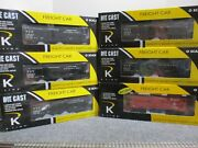 K-line K616-1092a Band0 Scale Freight 6-pac With Caboose New 2005