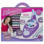 Cool Maker 2 In 1 Kumikreator Deluxe Necklace And Friendship Bracelet Making Lf