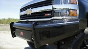 Fab Fours Black Steel Front Bumper - No Guard For 03-07 Chevy 2500hd / 3500hd