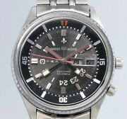 Orient Aaa Deluxe King Diver O-349-10672 Automatic Vintage Watch 1960and039s