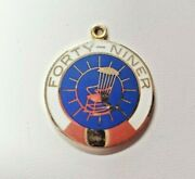 'forty-niner' Ypo 14k Gold Charm The Best Years Of Our Lives