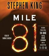 Mile 81 Includes Bonus Story And039the Duneand039 By Stephen King 2012 Compact...