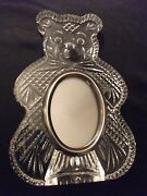 Waterford Crystal Giftware Teddy Bear Picture Baby Frame Deskireland
