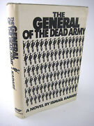 General Of The Dead Army Ismail Kadare Signed 1st Edition First Print Neustadt