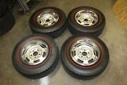 1964 1965 1966 1967 1968 Gto Tri Power Ram Air Rally I 14 X 6 Wheels Red Tires