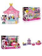 Disney Playsets Minnie Mouse Figures Accessories Girls Gift Doll Toy