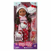 """New My Life As Hello Kitty African American Posable 18"""" Doll Free Shipping"""
