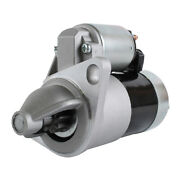 New 12 Volt 9t Starter Fits Ford Compact Tractor 1310 1983-85 1986 Sba185086321