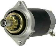 New Ccw Starter Motor Fits Yamaha Outboard C25elh C25elr C25mlh C25msh S108-80a