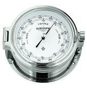 Wempe Cw180002 Globaltec Cup Brass Chrome-plated Barometer 140x47mm W/b