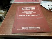 Multiton Hand Pallet Trucks Service And Troubleshooting Manual 1278