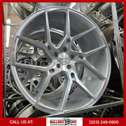 22 Gianelle 5x115 Wheel And Tire Package Silver Machined