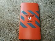 Illinois Central Gulf System Employee Timetable 1986 Train