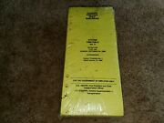 October 26 1986 Illinois Central Gulf Railroad Employee Timetable Nos Sealed