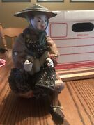 Antique Japanese Edo Period Doll 170 Years Old Christmas Gift Relic History