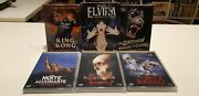 Pack Of 7 Classic Movies In Brazilian Limited Editions Blu Ray And Dvd Sealed