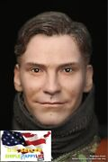 1/6 Male Head W/ Neck Soldier T For Hot Toys 12 Figure Coomodel Worldbox ❶usa❶