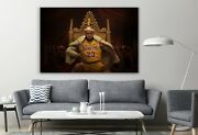 Lebron James Legend I Am King Edition Classic Basketball Game Sports Player