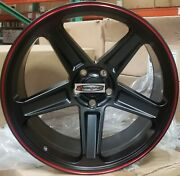 20 Flow Forged Rims Black Red Demon Style Wheels Tire Fit Challenger Charger Rwd