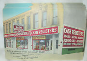 Burl And Kenney Store Equipment Brooklyn Ny National Cash Registers Postcard