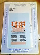 N Scale, Ndem National Railways Of Mexico Locomotives Decals,60-538, Super Rare