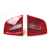 Pair Car Led Light Brake Turn Signal Stop Tail Fit For Audi A6 S6 Rs6 09-11 New