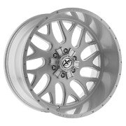 24x12 Brushed Milled Xf Off Road Xfx 301 Offroad Wheels Rims 8x170 8x6.5 24 Inch