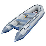 Bris 14.1 Ft Inflatable Boats Fishing Raft Power Boat Zodiac Dinghy Tender Boat