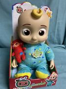 New Cocomelon Doll Plush Bedtime Soft 10 Sing Toy In Hand Super Fast Shipping