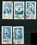 Germany Ddr Old Stamps 1960 - The 250th Anniversary Of Meissen Porcelain Factory