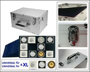 Look 1273 Alu Coin Case Gigant 15 Tab 2 5/8in For 180 Holder Xl 2 5/8x2