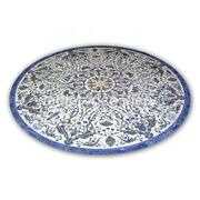 52 Marble Dining Table Tops Pietra Dura Marquetry Inlay Restaurant Decor W362