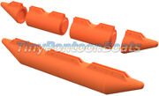 10and039 Long 17 Diameter Robot Floats Remote Control Plastic Floats Automated Boat