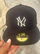 Yankee Fitted Roc Nation Hat. Exclusive T Mark Limited Edition Size 7 1/2