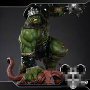 Hulk Green Scar 1/4 Resin Statue Model Painted 2 Head Collectible Deluxe Edition