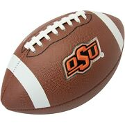 Oklahoma State University Cowboys Osu Leather Football With Discontinued Logo