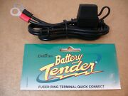 Wire Harness Quick Disconnect Battery Tender Motorcycle 7.5 Amp 12 Volt Models