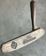 """Super Rare Turf King 102 Old Milwaukee Beer Rh Golf Club 35"""" Putter Collectible"""